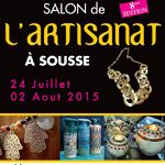 La 8ème édition du Salon National de l´Artisanat à Sousse du 24 juillet au 2 août
