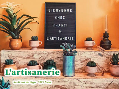 En photos : Découvrez L'Artisanerie la nouvelle boutique-atelier à Tunis