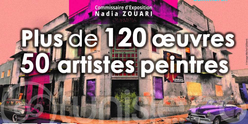 Plus de 120 œuvres d'une cinquantaine d'artistes peintres à la Biennale de l'Art