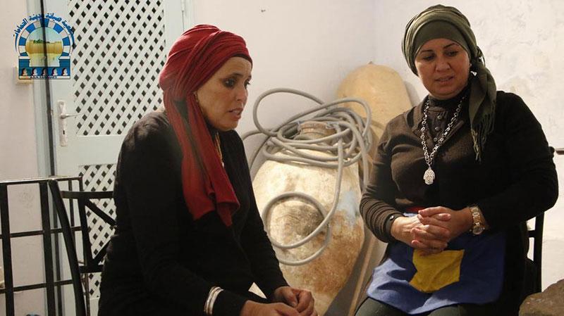 Les préparatifs de la manifestation du Mouled par l'Association de Sauvegarde de la Médina d'Hammamet