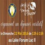 Déjeuner caritatif Les Toques Blanches le 22 Mai au Lake Forum