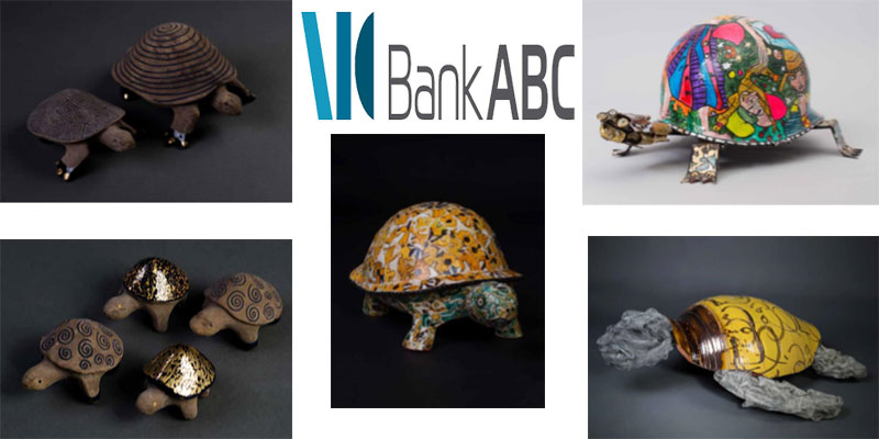 Bank ABC sponsor de l'exposition « Les tortues de l'atelier Driba 93 »
