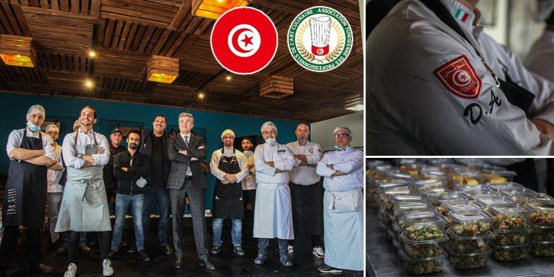 Mohamed Ali Toumi rend visite aux chefs bénévoles
