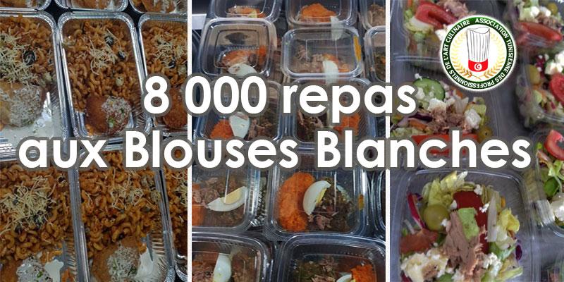 Les Chefs offrent plus de 8000 repas aux Blouses Blanches