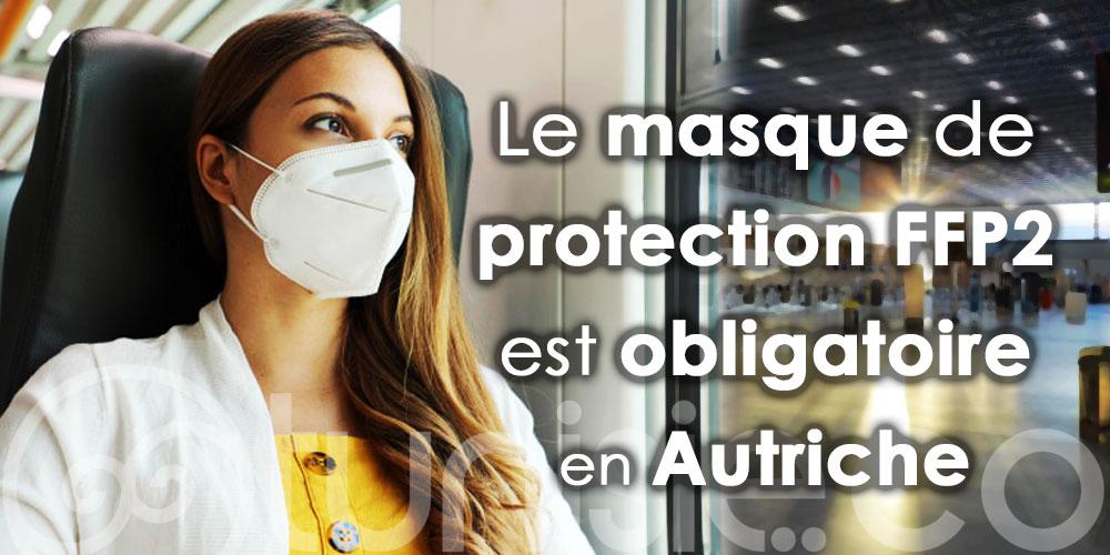 Le masque de protection FFP2 est obligatoire en Autriche