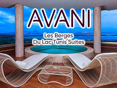 La plus belle vue sur le Lac 2 à l'hôtel Avani Les Berges du Lac Tunis Suites