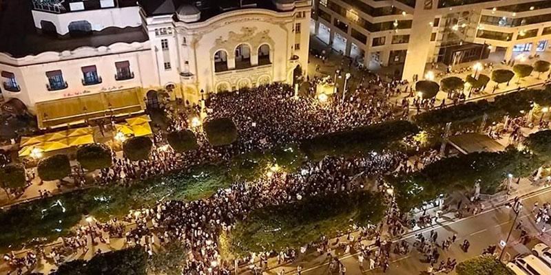 En photos : Lajoie de vivre dans la plus belle avenue de Tunis