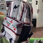 Un sac à dos 100% fait main, artisanal et typiquement tunisien à 50dt