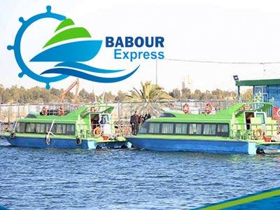 Découvrez la date et tarifs de la première traversée de Babour Express entre Sfax et Djerba