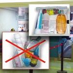 Attention : Nouvelles restrictions en matière de transport de liquides, de gels et d'aérosols dans les bagages à main