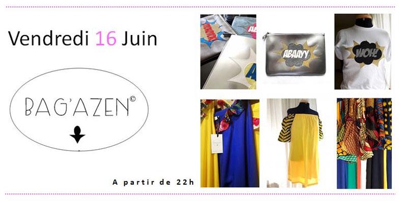 Découvrez les accessoires de Bag'azen lors d'une expo-vente privée