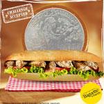 Vente flash à 1dt le sandwich fermier chez Baguette & Baguette !