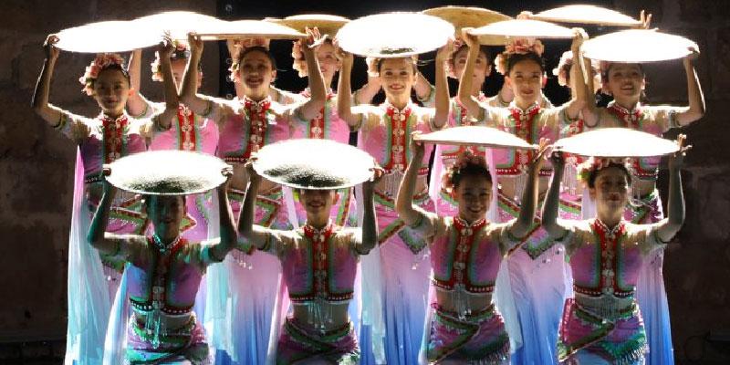 بالصور :عرض الباليه الصيني في الدورة 55 لمهرجان قرطاج الدولي
