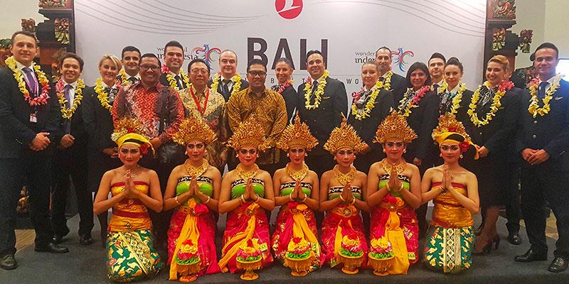Turkish Airlines rajoute Bali en Indonésie à son réseau