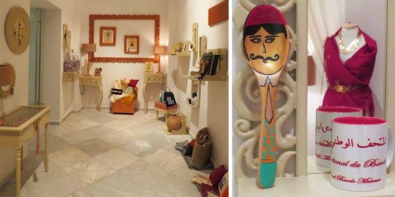 En photos : 3 nouvelles boutiques artisanales ouvrent au Musée du Bardo