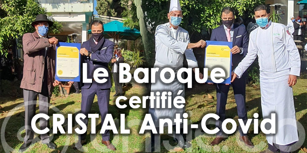 Le Baroque, 1er restaurant en Afrique certifié CRISTAL Anti-Covid