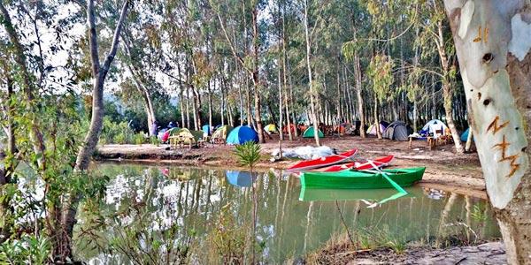 Le barrage de Sidi El Barrak, un cadre idéal pour un camping au coeur de la nature