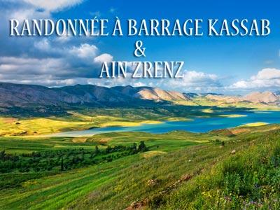 Randonnée à Barrage Kasseb & Ain Zrenz le dimanche 15 avril