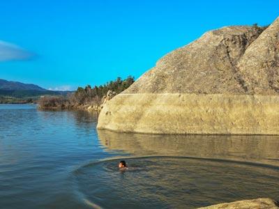 En photos : Barrage El Masri (Bou Argoub, Grombalia), comme vous ne l'avez jamais vu