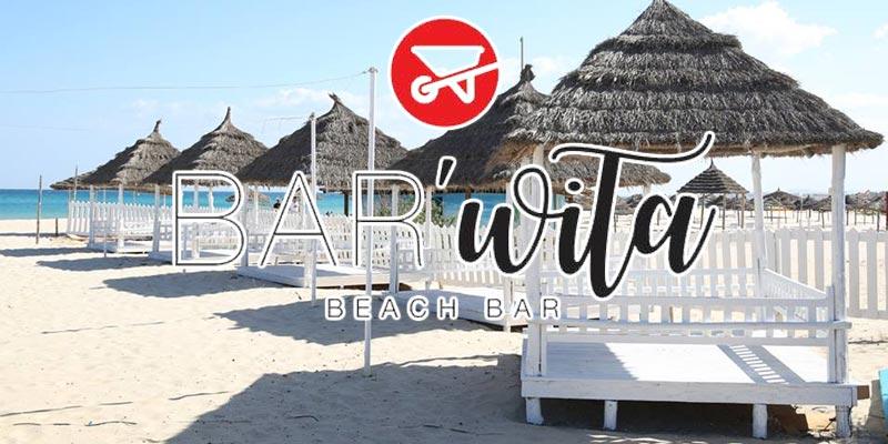 Bar'wita, un nouveau beach bar avec un concept original à Hammamet