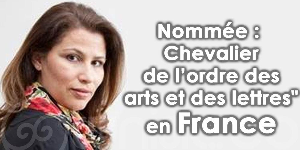 Basma Makhlouf nommée ''Chevalier de l'ordre des arts et des lettres'' en France