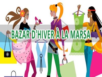 Le Bazar d'Hiver à la marsa se tiendra le 25 février au siege UTAIM