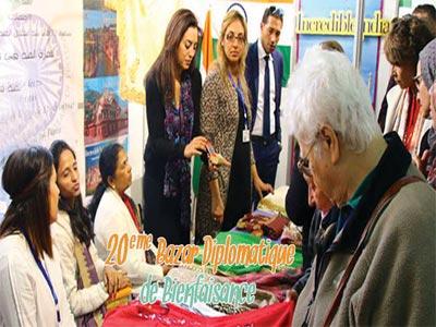 En vidéo : Ambiance du Bazar diplomatique de Bienfaisance 2017