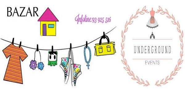 Grand Bazar spécial maison et déco le 27 Février au concept store Underground Events