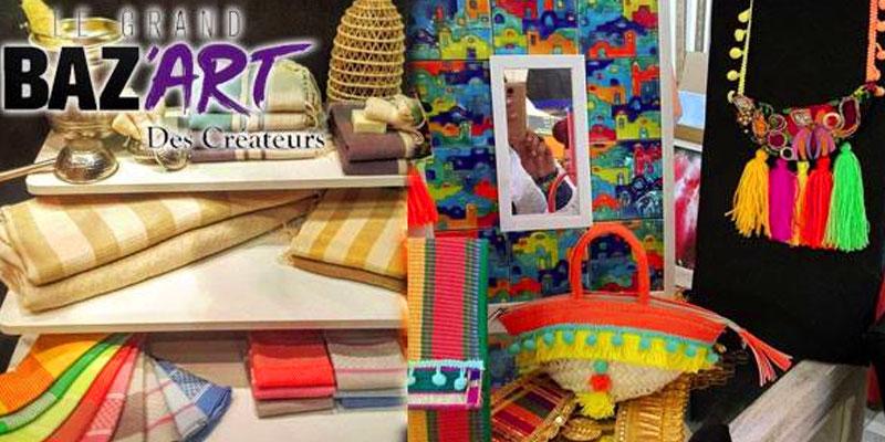 Le Grand Baz'art Des Créateurs du 16 au 18 juin au Complexe Bab El Bouhaira
