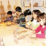 Atelier d'art pour enfants au B'Chira Art Center, samedi 11 mai 2013