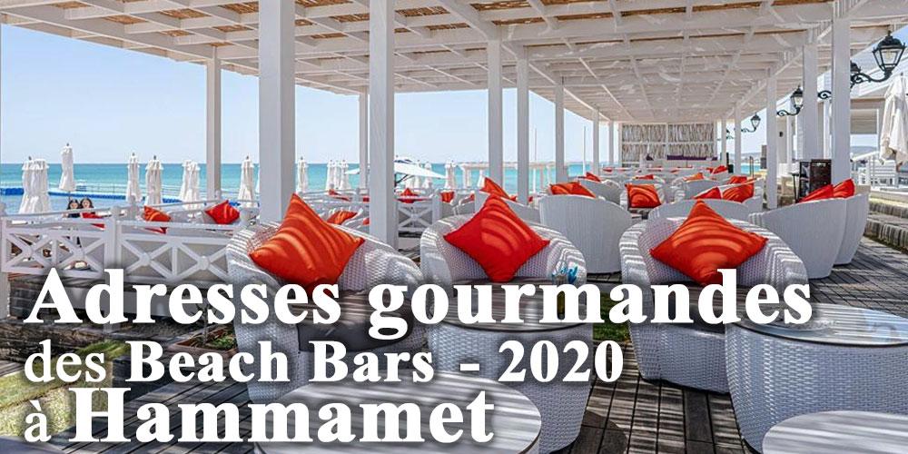 Les incontournables Beach Bars de l'été 2020 à Hammamet