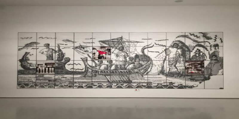 La Tunisie représentée par Ulysse de la Hafsia à la Première Biennale d'art contemporain de Rabat