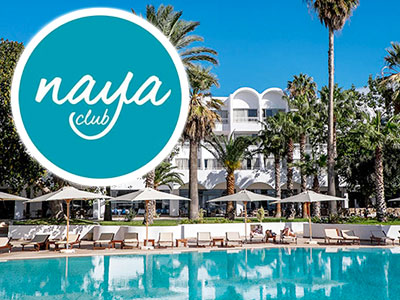 Le Bel Azur Hammamet devient un Naya Club par Voyamar