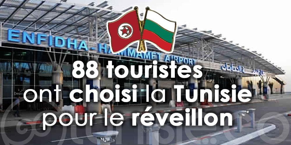 Arrivés à Enfidha Hammamet, 88 touristes ont choisi la Tunisie pour le réveillon