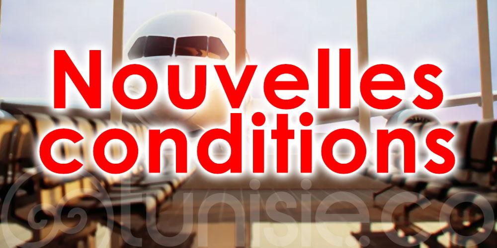 Nouvelles conditions pour les voyageurs à destination de la Belgique