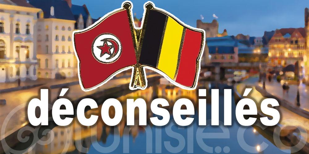 La Belgique déconseille les voyages en Tunisie