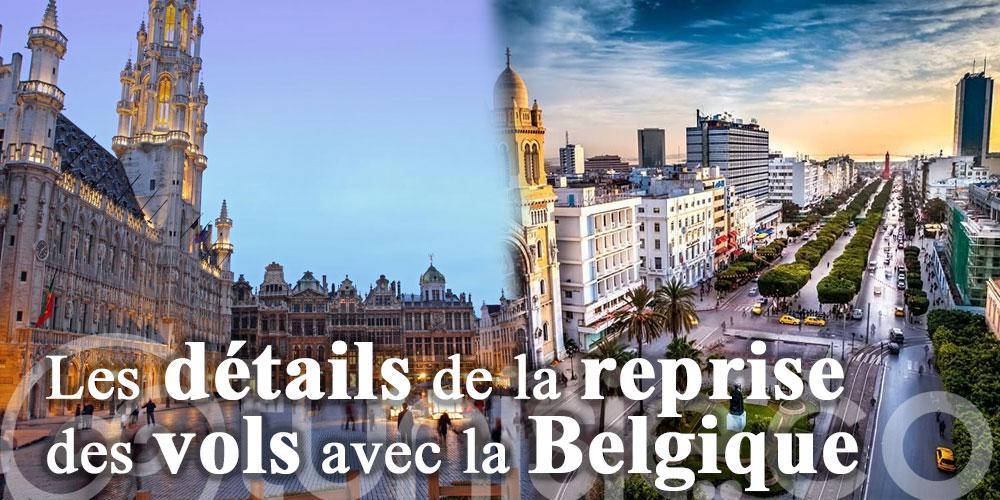 Les détails de la reprise des vols avec la Belgique