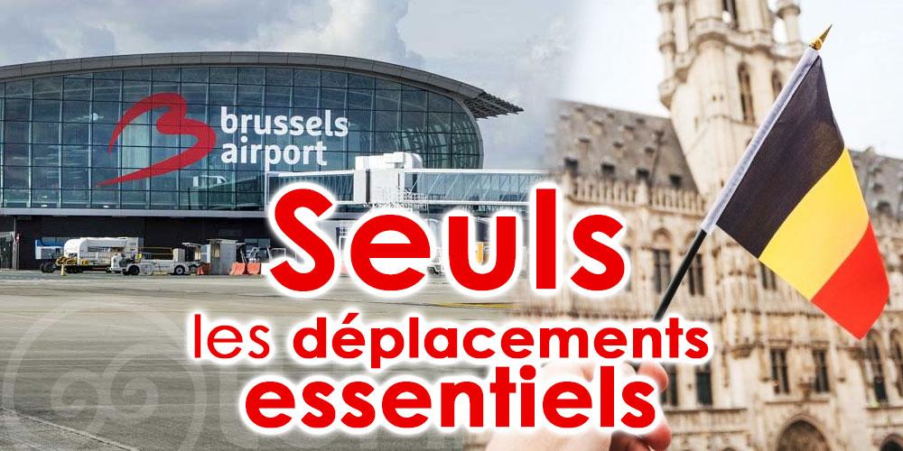 Seuls les déplacements essentiels sont possibles vers la Belgique