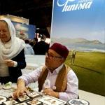 En photos : L'artisanat tunisien à l'honneur au Salon des Vacances de Bruxelles 2017