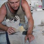 Mehdi Benedetto ou l'apprivoiseur de la pierre