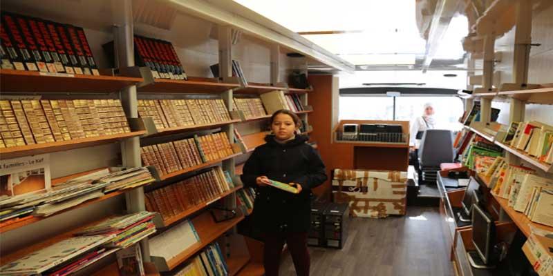 Tekelsa accueille son bibliobus, pour plus de proximité avec le livre