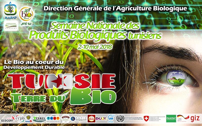 8ème édition de la Semaine Nationale des Produits Biologiques Tunisiens