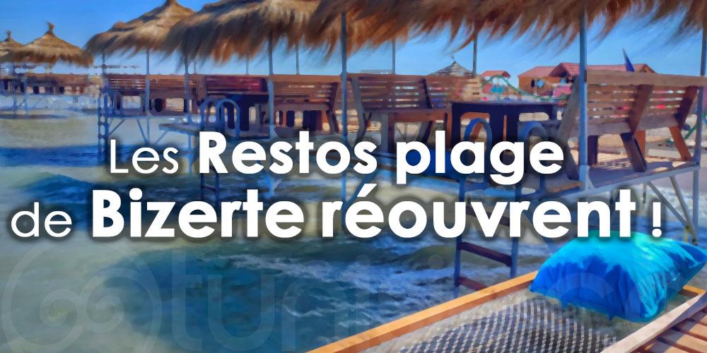 Les Restos plage de Bizerte réouvrent !