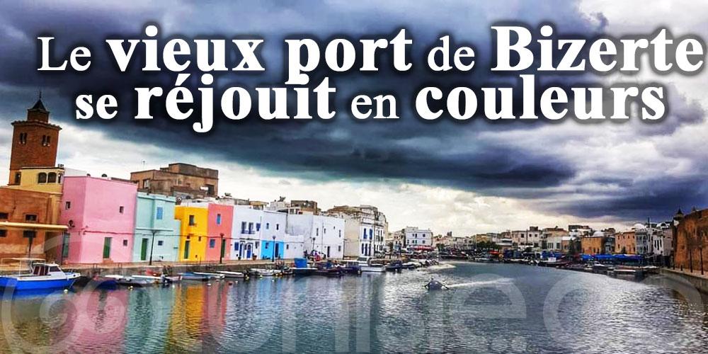 Le vieux port de Bizerte se réjouit en couleurs
