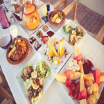 Menu d´Iftar au Blooming Resto Beach à Sousse