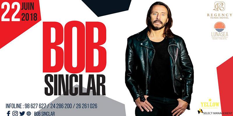 Le Regency Tunis Hotel invite le DJ superstar Bob Sinclar