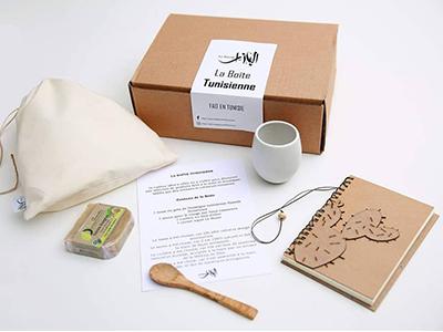 La boîte Tunisienne, le cadeau authentique by Le Bazar