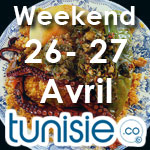 Bons plans sorties pour ce weekend des 26 et 27 avril by Tunisie.co