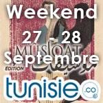 Bons plans sorties pour ce weekend des 27 et 28 septembre 2014 by Tunisie.co