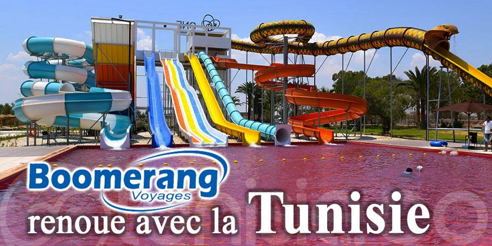 Boomerang Voyages renoue avec la Tunisie dès le 1er août